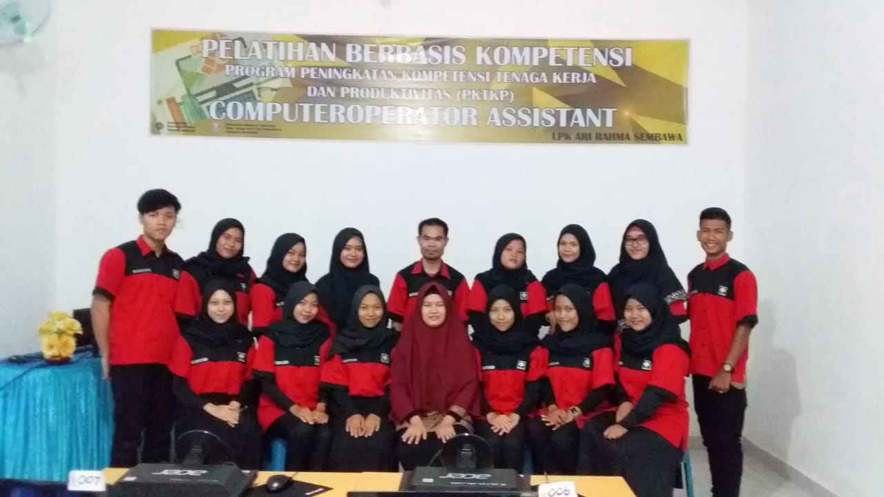 Pelatihan Berbasis Kompetensi 2020